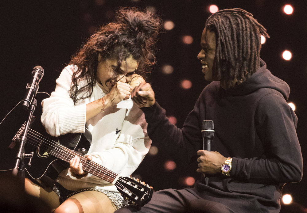 Jessie Reyez and Daniel Caesar