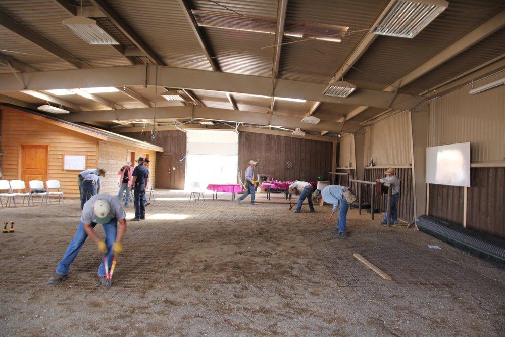 Workshop at Nevada ranch