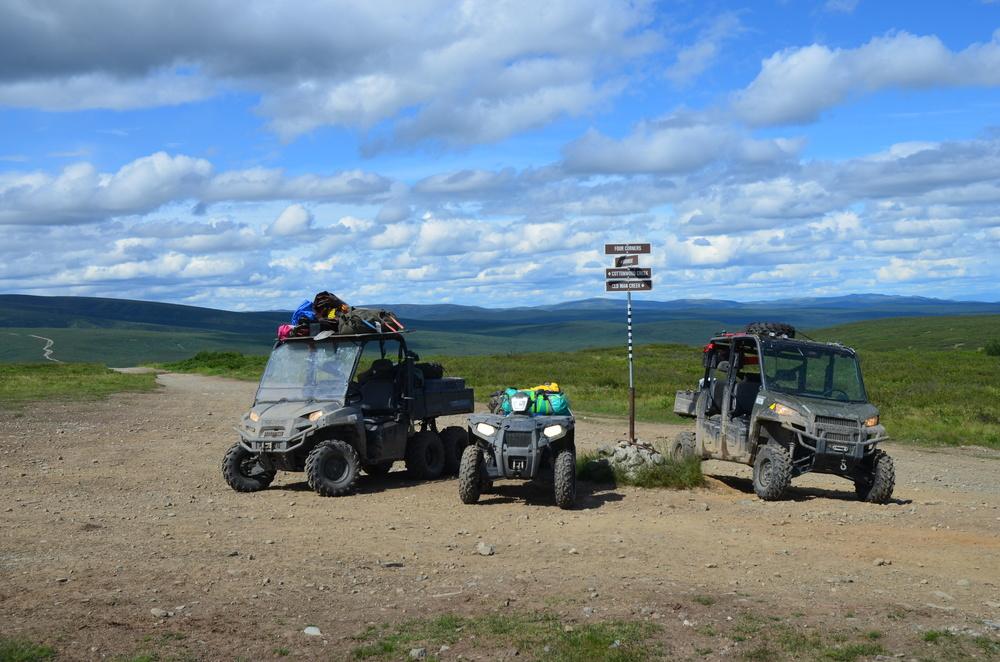 At Four Corners, the Alaskan Crossroads