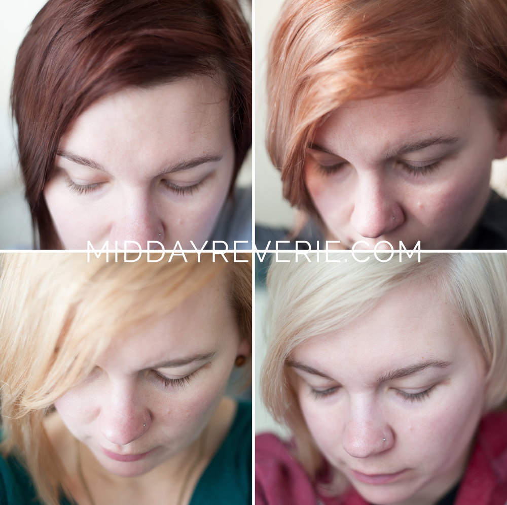 How to platinum hair at home midday reverie three sessions of bleaching and toning at home to go from dark brown to platinum urmus Gallery