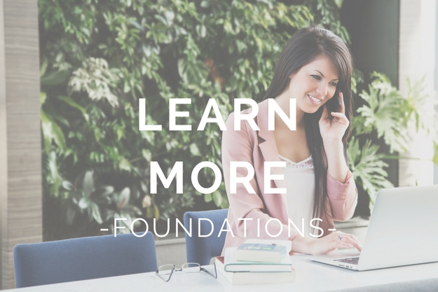 Learn More - Financial Foundations