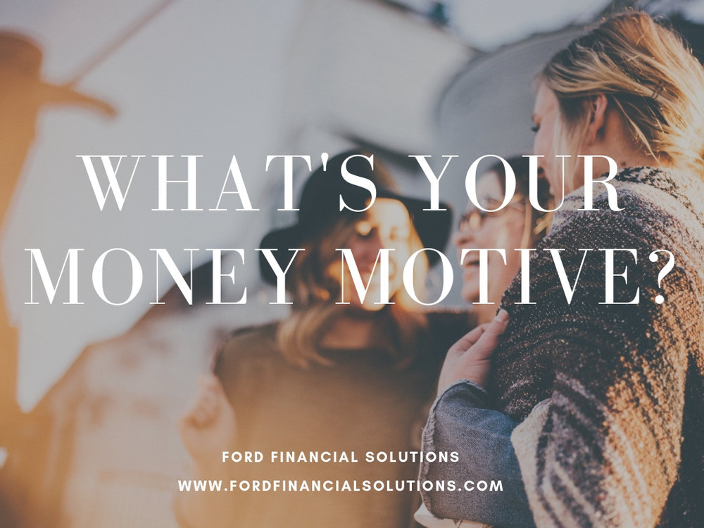 What's your money motive?