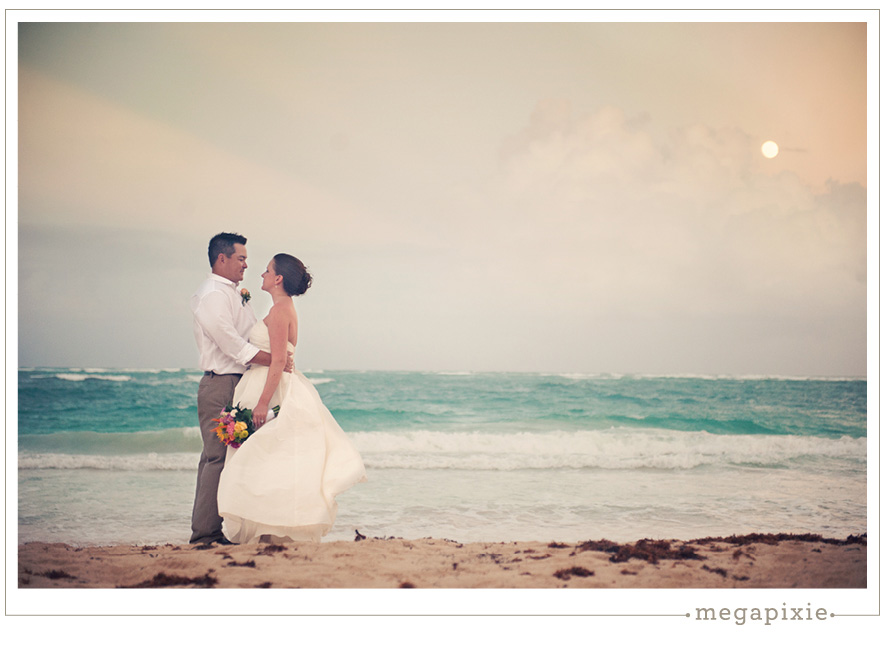 Dominican Republic Wedding Beach Portraits