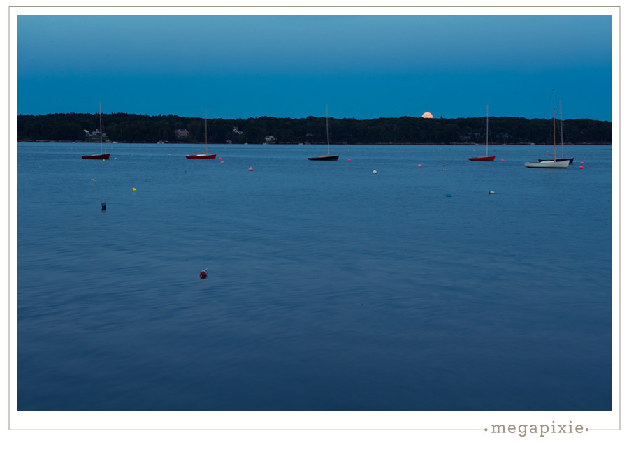 Moonrise Boothbay Harbor