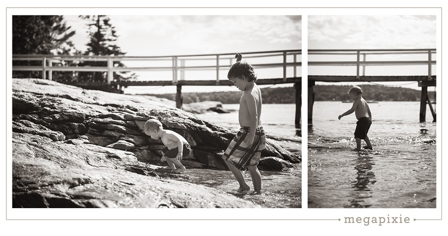 Boothbay Harbor Maine Family Photography