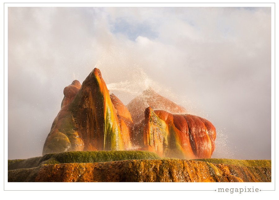 Black Rock Desert Fly Geyser Photographer