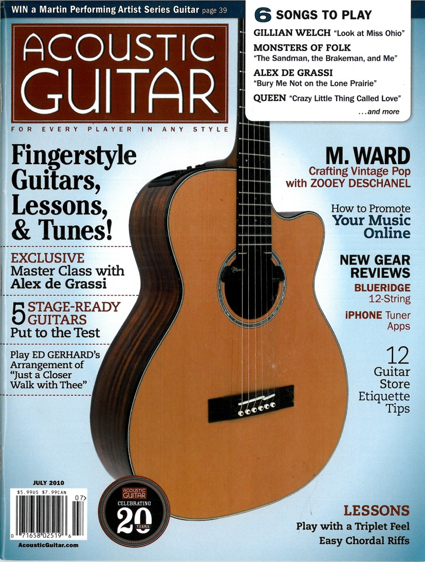 Acoustic Guitar Magazine - July 2010