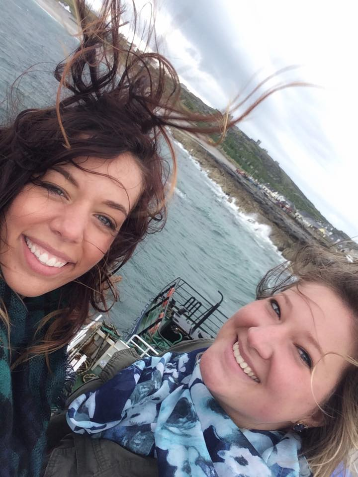 Wind in Ireland makes good pictures difficult