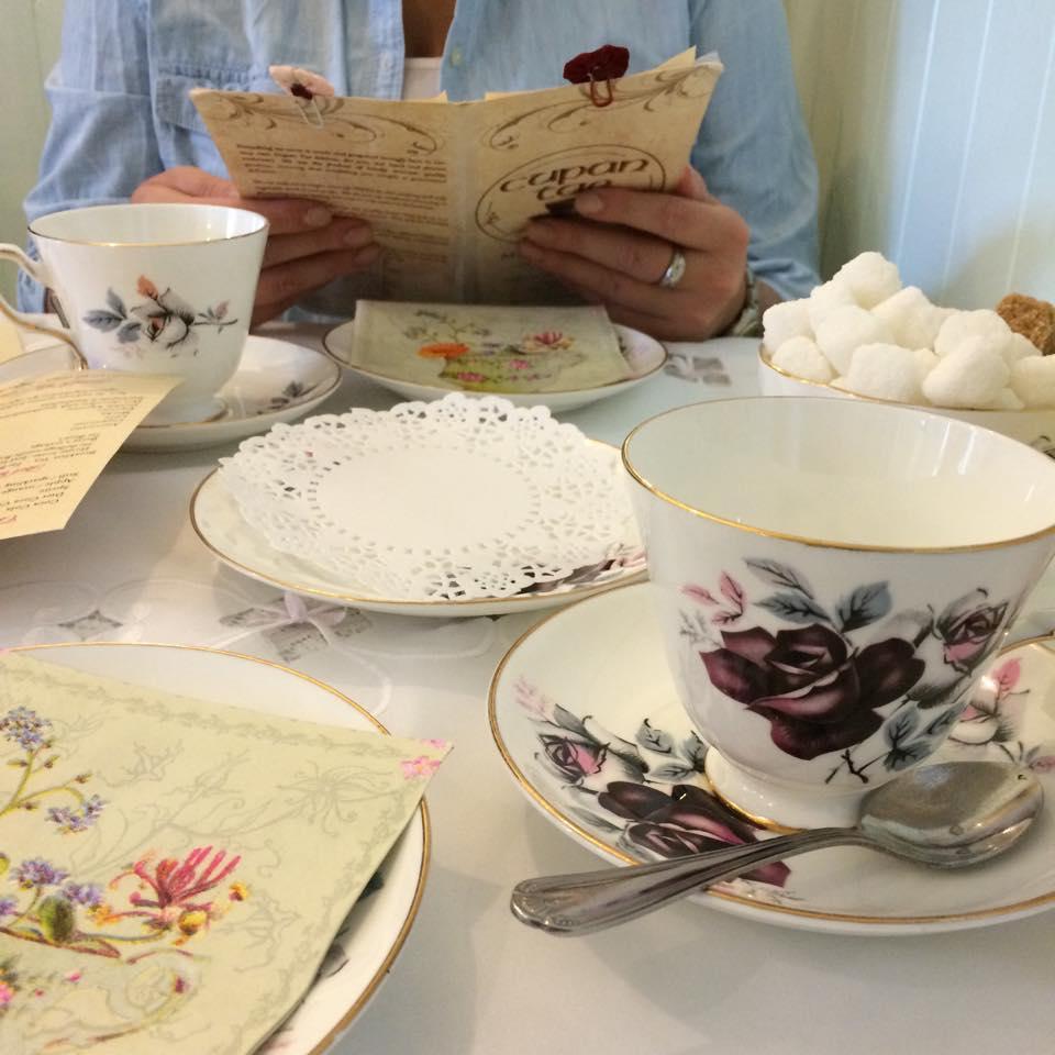 Morning tea at Cupan Tea in Galway
