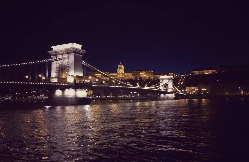 Buda Castle from the Danube