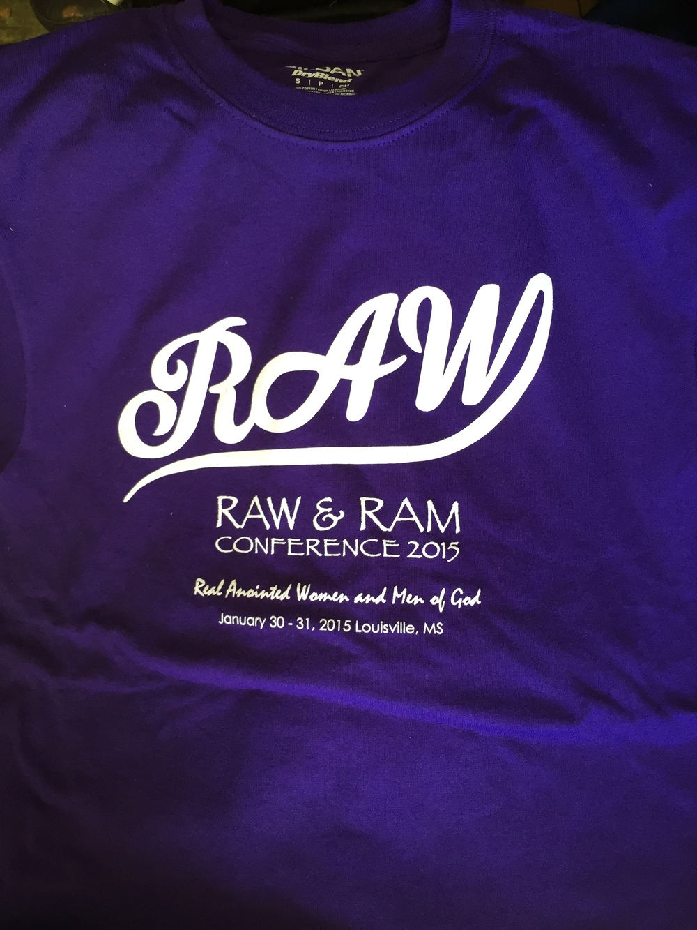 RAW Conference T-Shirts Available Now for only $10