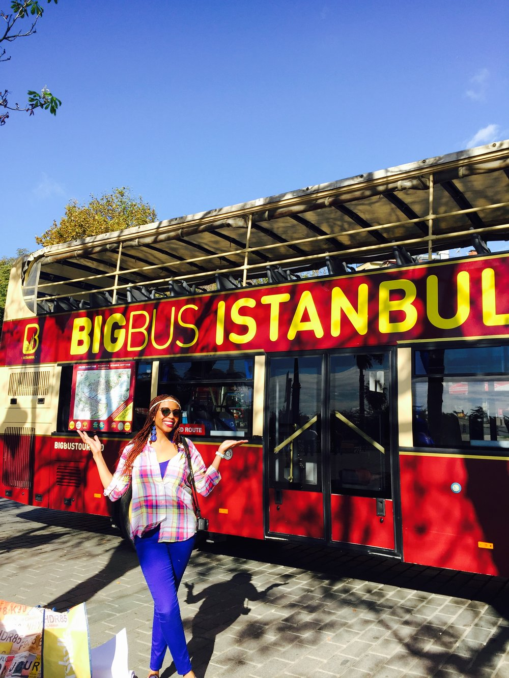 No crowds to beat in Istanbul...  There were 5 tourists on the entire bus!