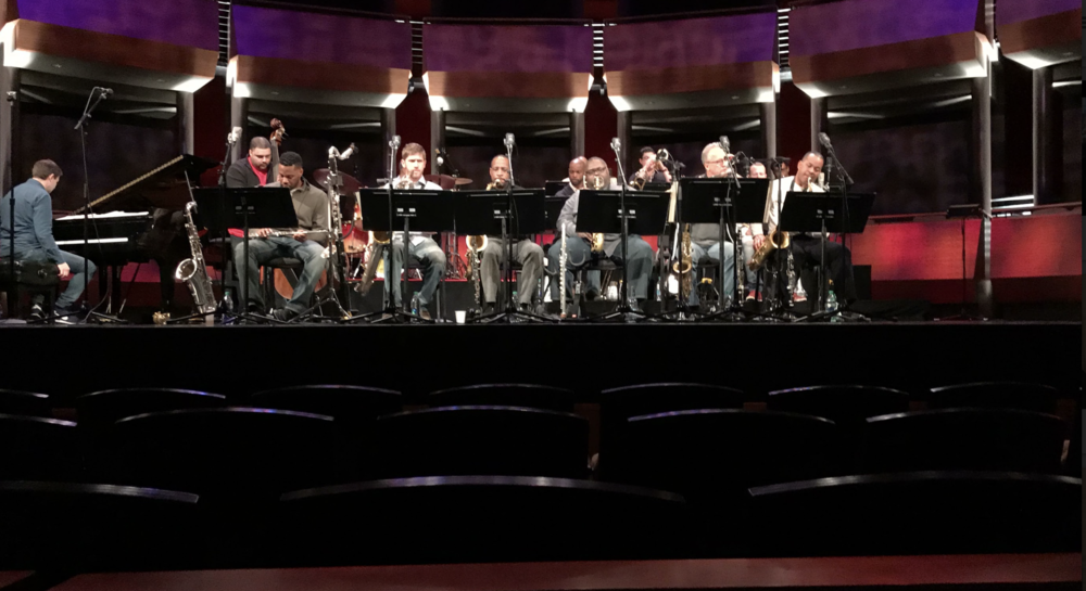 The Jazz Band observed the Jazz at the Lincoln Center Orchestra with renowned jazz musician Wynton Marsalis.