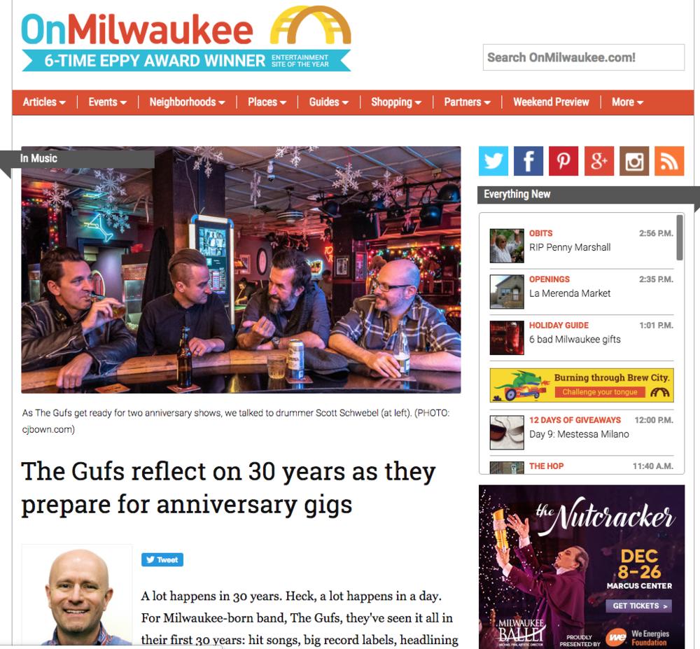 2018 - OnMilwaukee.com - The Gufs