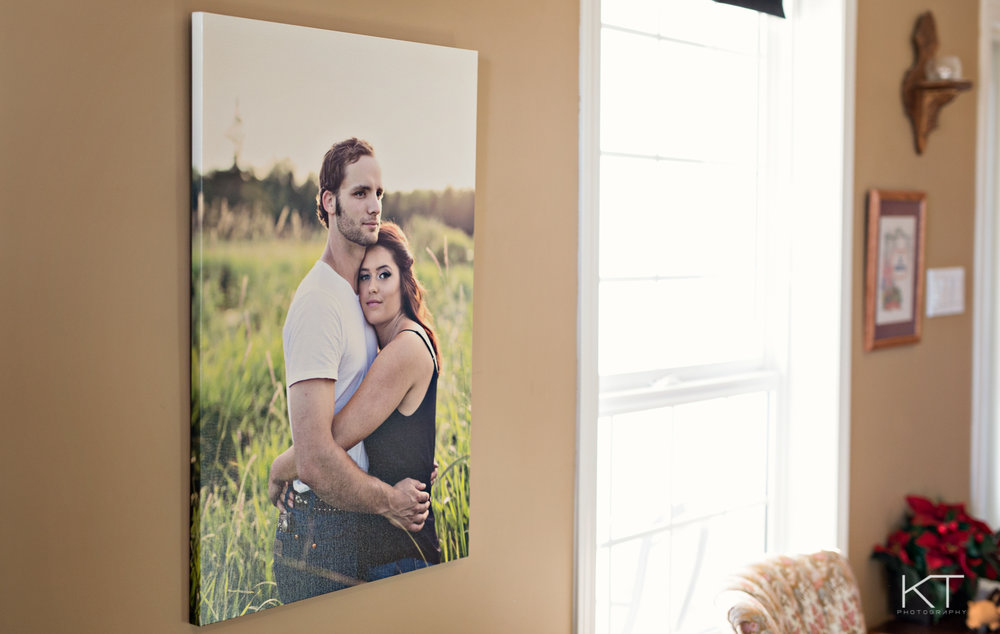 Our beautiful Gallery Wrapped Canvas