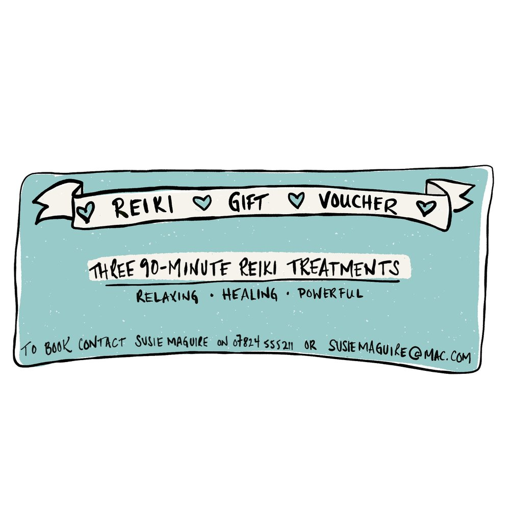 Gifts For You And Others Lovebombyourlife Voucher Three Reiki Treatments Gift