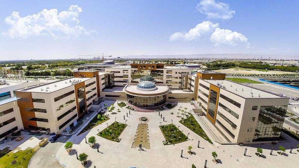 Razavi Hospital; photographed by  بیمارستان فوق تخصصی مشهد
