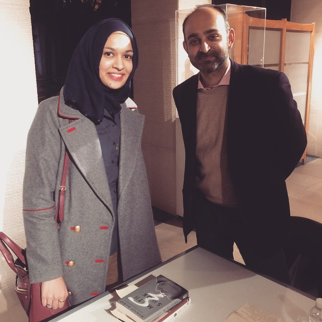 Book signing w/ Mohsin Hamid