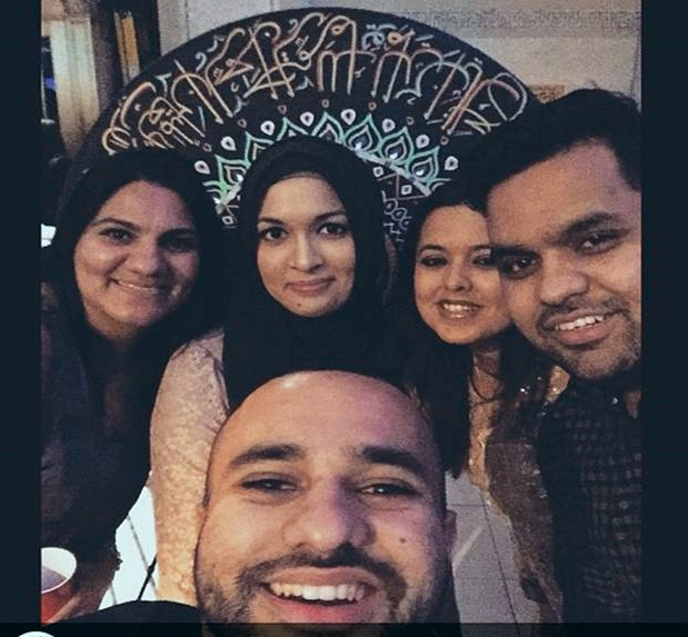 Selfie taken with AREEJ fans