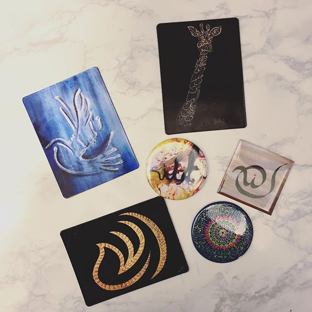 Some of my popular paintings are now magnets! Stop by my booth 625 at ICNA to get yours 👆
