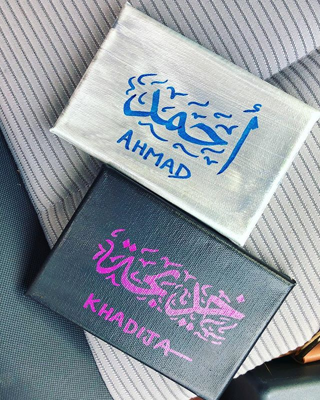 Had a great time at ICNA this weekend customizing hundreds of these canvases 🖌️