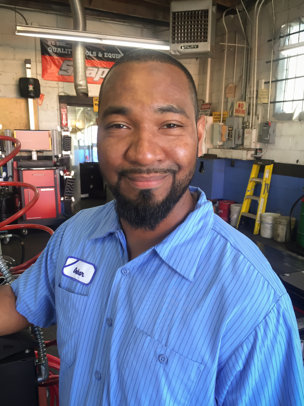 Omhar Rodriguez, Mechanic