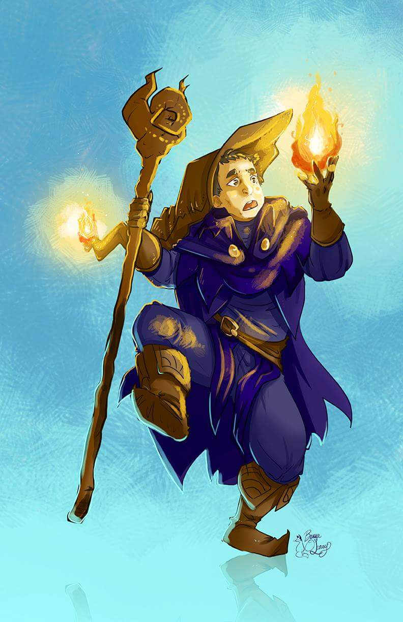 Patryck the Incompetent Mage