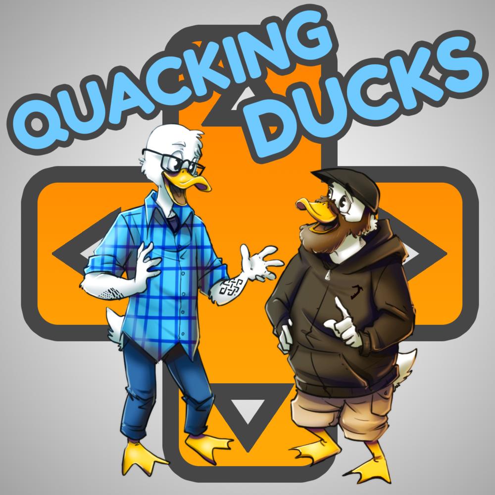 'Quacking Ducks' - Podcast Logo Commission