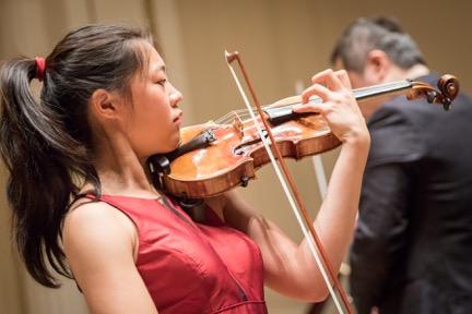 Chelsea Xia, violin