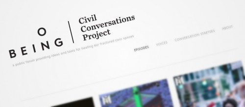 On Being: Civil Conversations Project