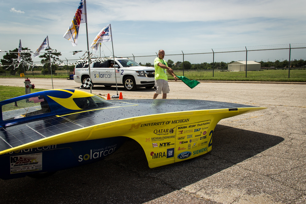 MLive |University of Michigan solar car wins fifth straight national title