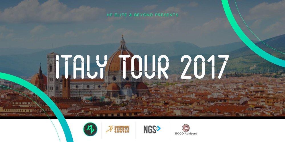 HP Elite Beyond Italy Tour Recap - Italy tour