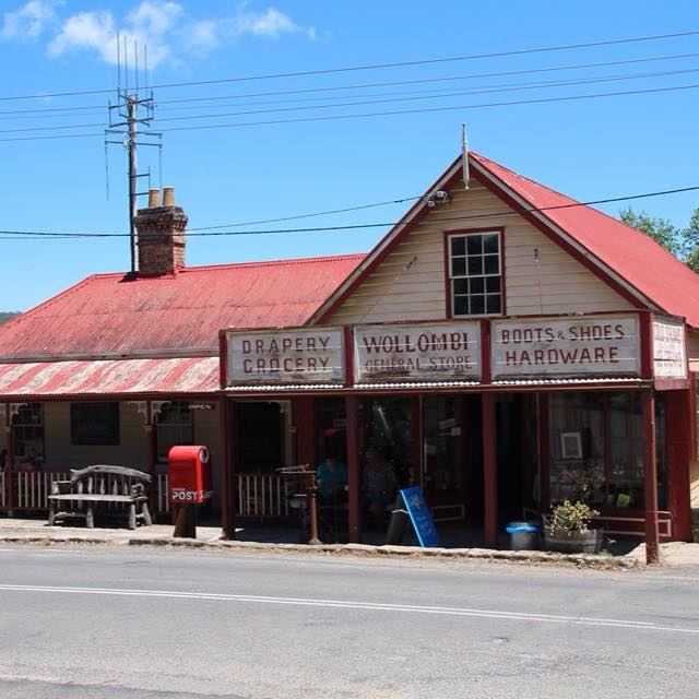 Wollombi General Store Supply groceries,meat and fresh vegetables to historic Hunter tourist town Wollombi. Showcasing an exciting display of local Arts, Crafts and local produce