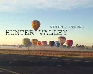 The accredited Hunter Valley Visitor Centre is located just outside of Cessnock in the heart of the Hunter Valley, Australia. The Centre rests at Wine Country Drive Pokolbin, at the same entry to Cessnock Airport; and is your gateway to all information about the Hunter Valley.