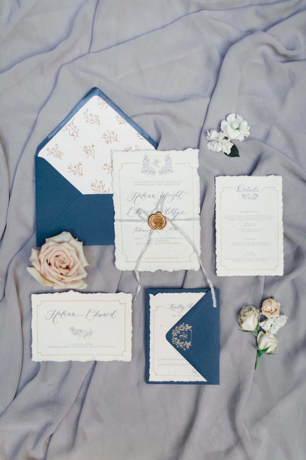 Invitation Suite | Blush Sky Photography