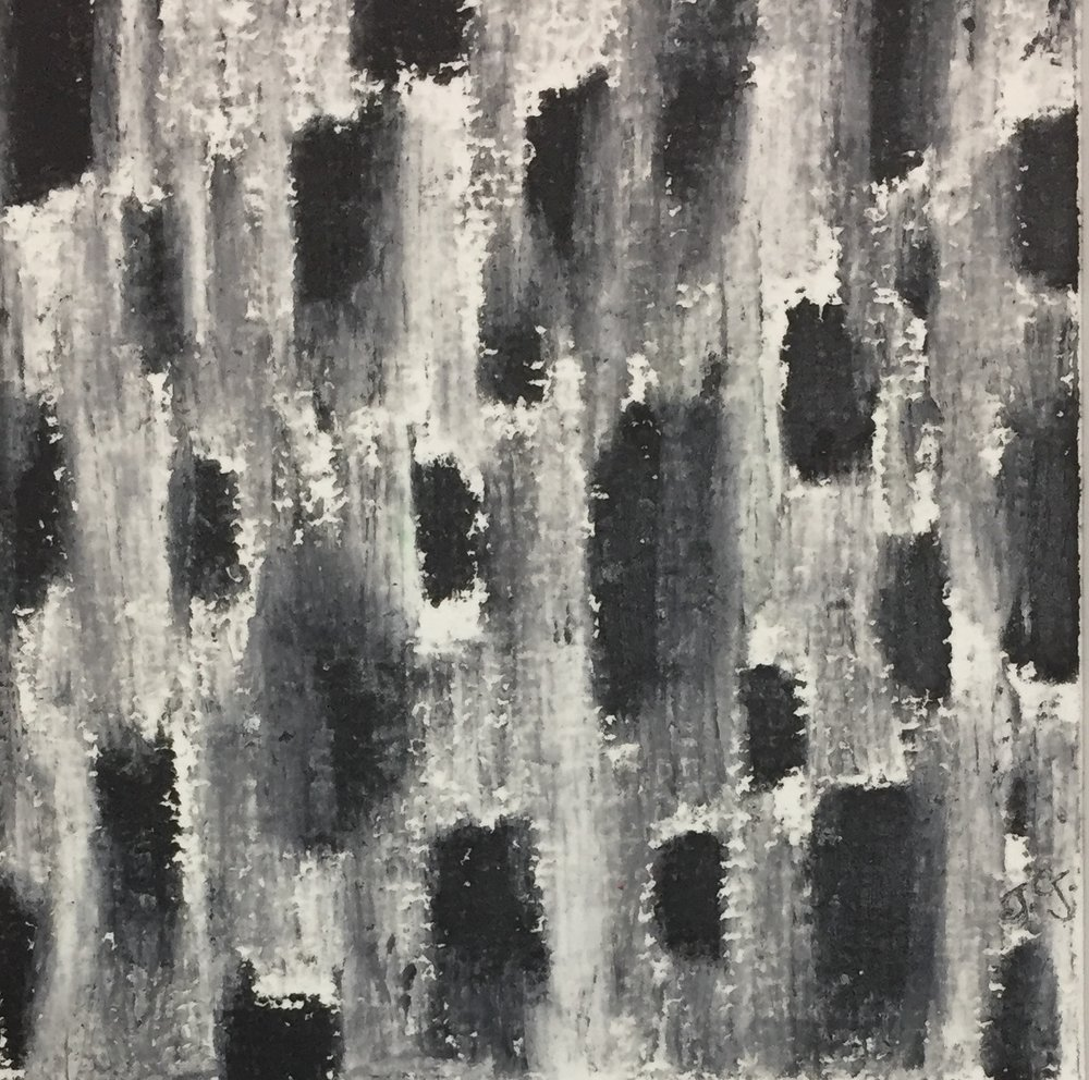 Janelle Goldman_Black and White_oil pastel.JPG