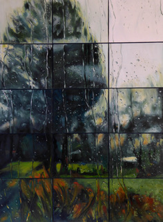 Shelagh Lummis-Mythic Reality 2 Oil on 15 canvas boards 80 x 105 cms .jpeg