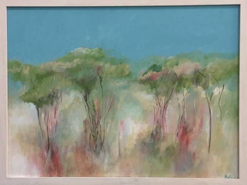 Woodlands  2016 acrylic on canvas 48 x 64cm $720.00