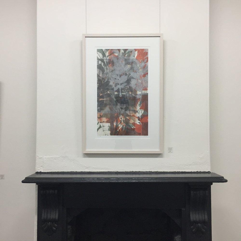 Helene Leane_Red Cedar 3 2017_gouache monotypeon paper,framed_60x93cm_$1100.00.JPG