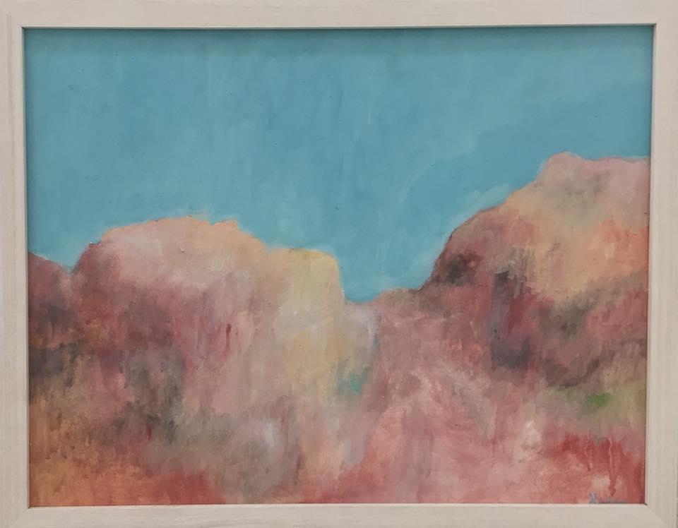 Helene Leane  Landscape  2016 38 x 48cm $650.00