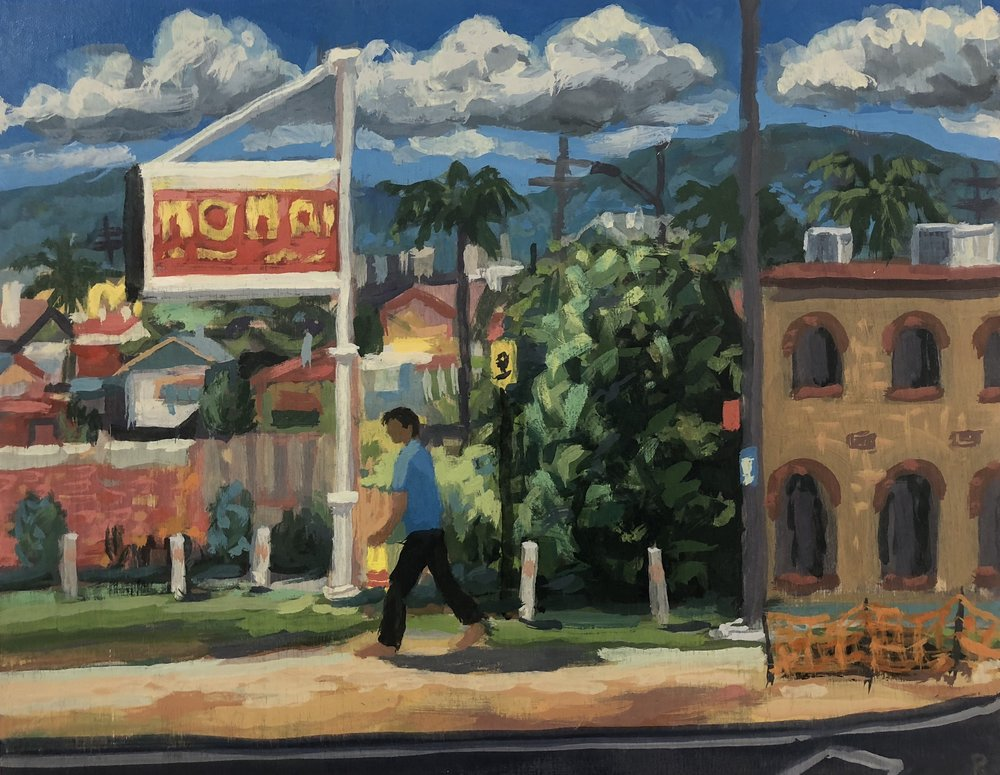 Peter Lankas Innisfail 2018 oil on board 40 x 50cm $750.00..jpg