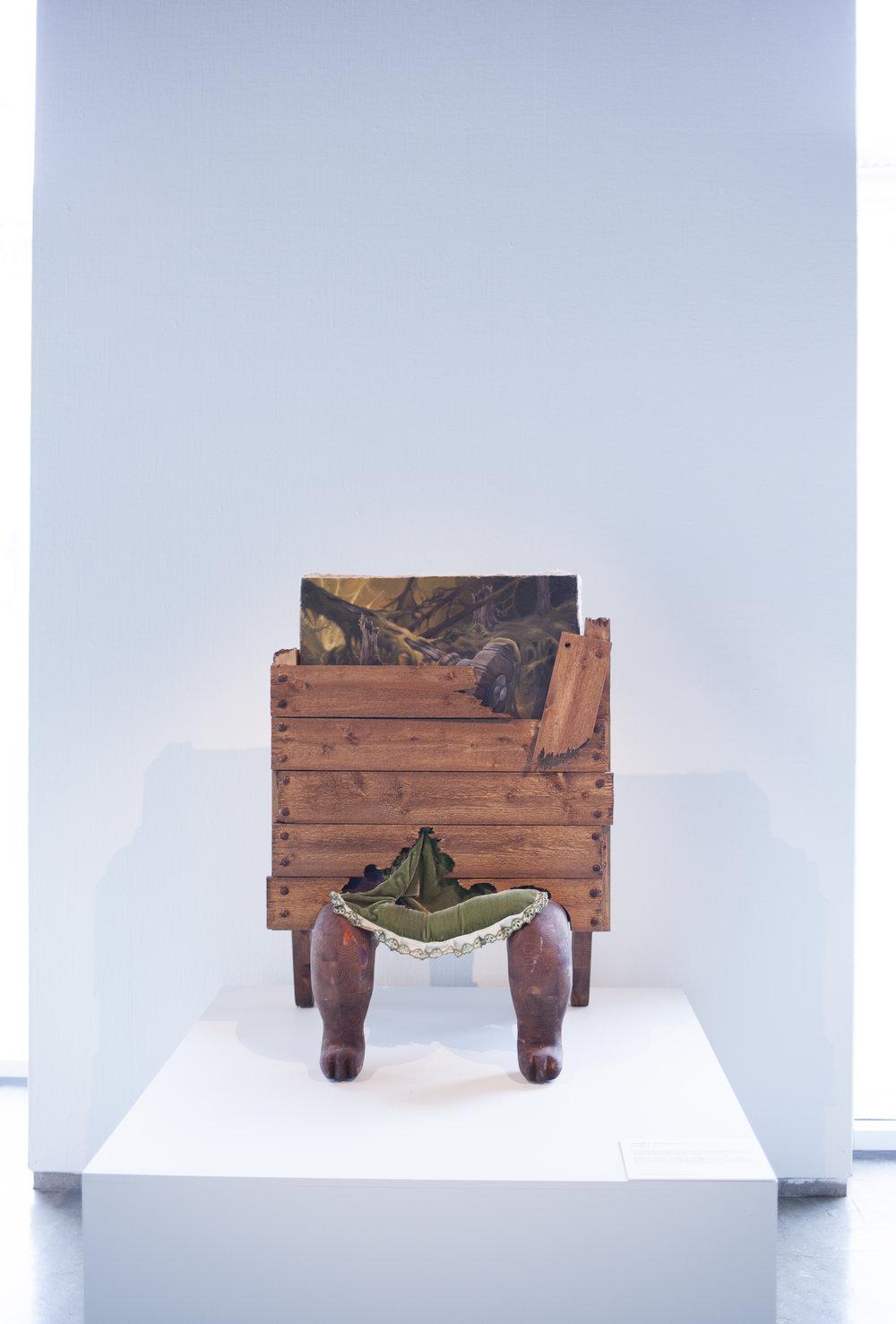 Bjørn Båsen,Woods in Wood. Foto: Nordenfjeldske Kunstindustrimuseum