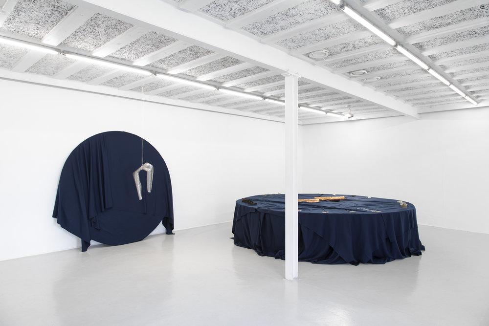 Installasjonsfoto av utstillingen Nordic Alchemy på RAM galleri. Foto: RAM galleri