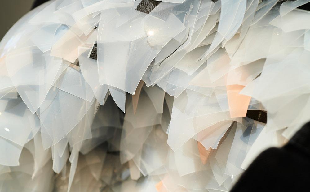 Victoria Ahmadizadeh,  Erase You . Detalj. Foto: Pål Hoff