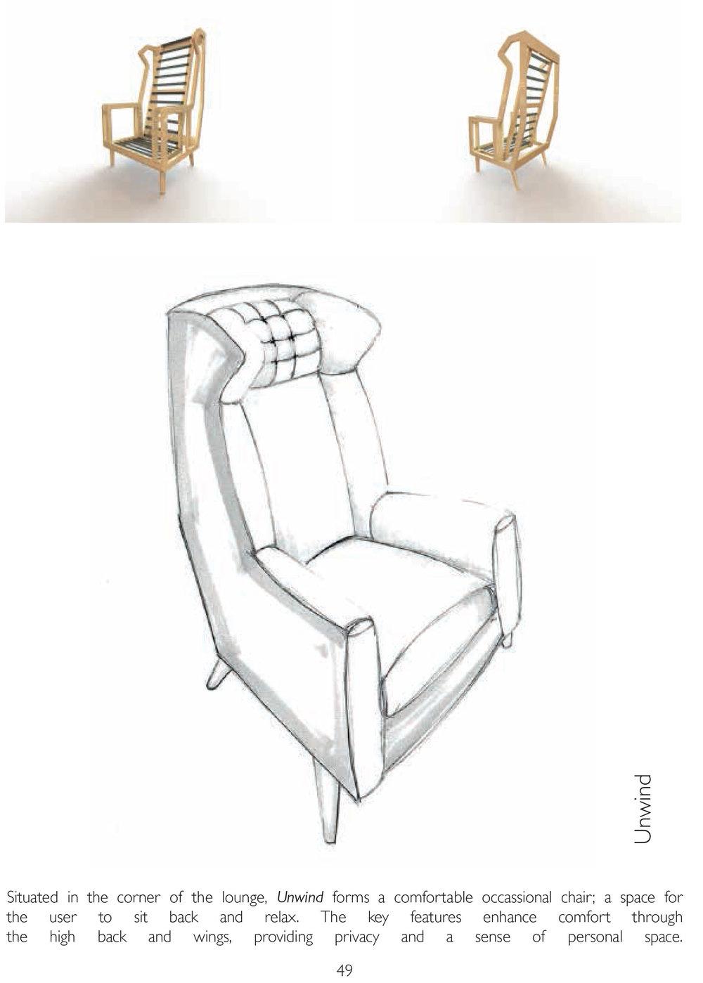 Ba furniture product design brochure 2017 ntu design for Product design chair