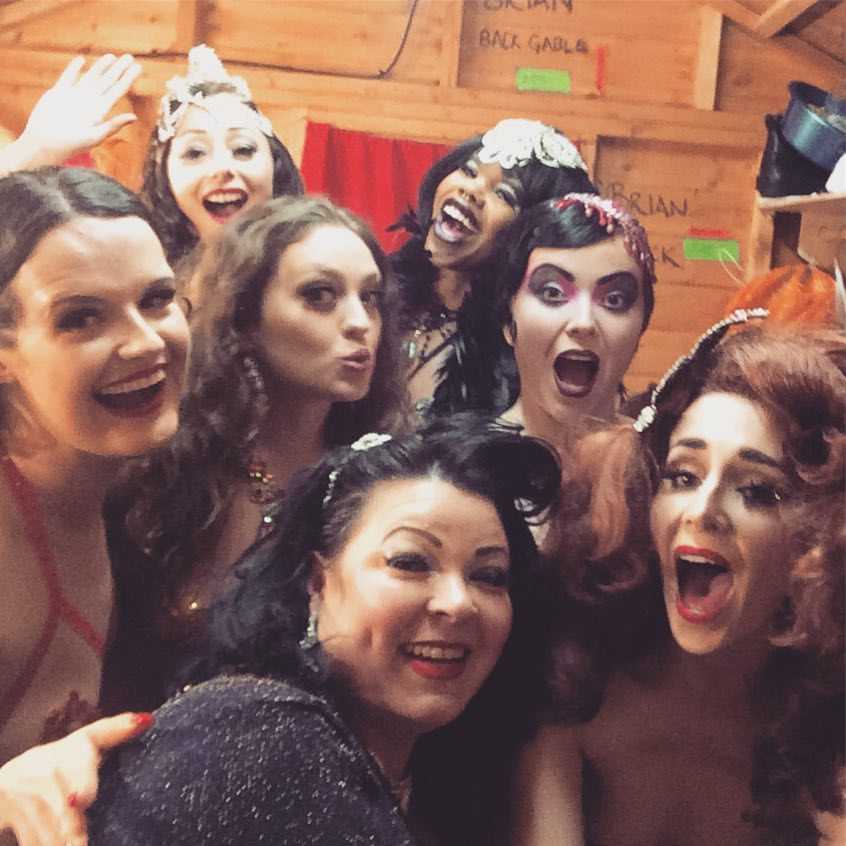 The cast of Best of Burlesque, Sunday August 14th 2016