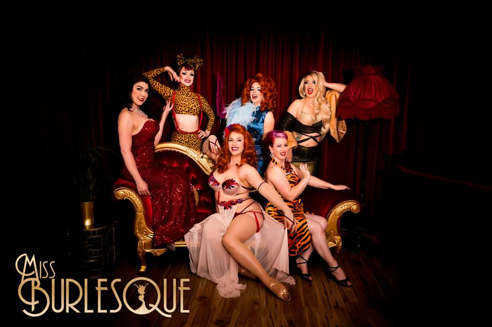 Press image for Miss Burlesque Victoria 2018