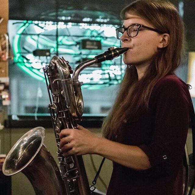 Beats at @bierstation #ladyjazz #kansascityjazz ::photography courtesy of @christianhartgrove