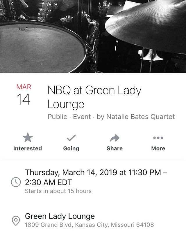Come check out the ladies tonight at the Green Lady! #womeninjazz #kansascity