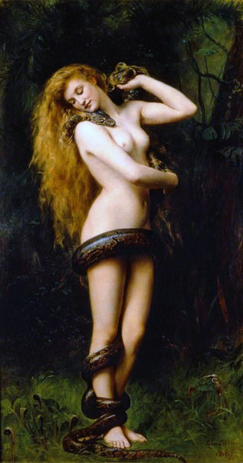 Lilith by John Collier, 1892